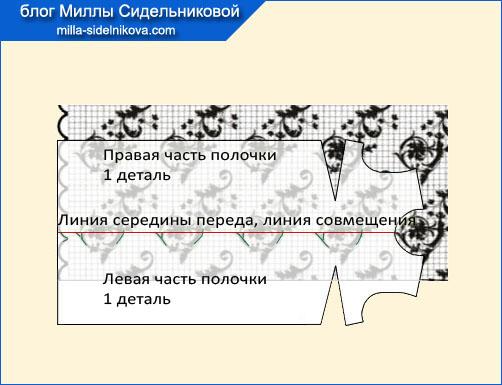 14-kak-razlozhyt-vykrojku-na-tkani-s festonami