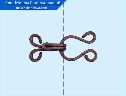 4 prishivaem kryuchki shubnye metalicheskie v opletke