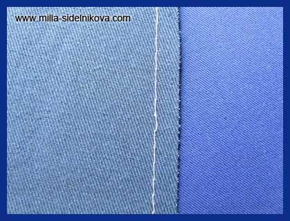 2-mashinaya-strochka-po-krayu-sreza Обметочный шов вручную как делать. Петельный шов
