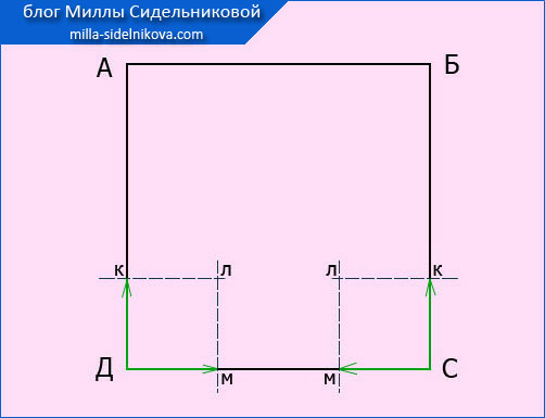 6 izg. vykrojki naklanogo k-a zakruglenoj formy6