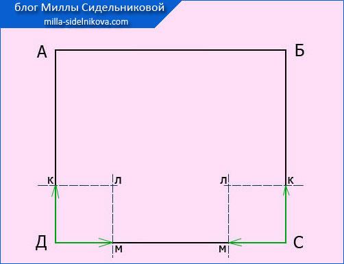 7 izg. vykrojki naklanogo k-a zakruglenoj formy7