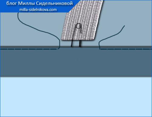 40 kuliska-rezinka dvojnaya podgibka