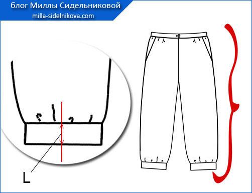4-kak-sdelat-manzhety-na-bryukax Как удлинить классические брюки. Как удлинить брюки женские в домашних условиях